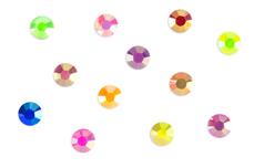 Jolifin Strass-Display - bunt irisierend