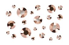 Jolifin Strass-Display rosé-gold