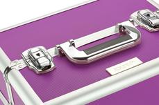 Mobiler Kosmetik Koffer lila - B-Ware 2