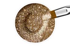 Jolifin Farbgel rosy champagne Glitter 5ml