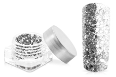Jolifin Illusion Glitter VIII luxury silver