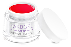 Jolifin Wetlook Farbgel neon-red 5ml