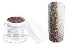 Jolifin Wetlook Farbgel multicolor Glitter 5ml