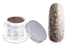 Jolifin Wetlook Farbgel multicolor Glitter 5ml