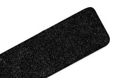 Jolifin LAVENI Feile schwarz - extra breit 100/180