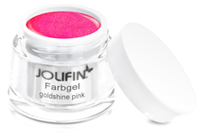 Jolifin Farbgel goldshine pink 5ml