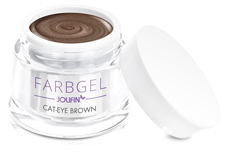 Jolifin Cat-Eye Farbgel brown 5ml