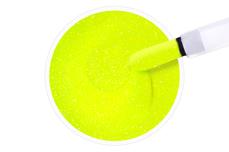 Jolifin Carbon Quick-Farbgel neon-yellow Glitter 11ml