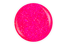 Jolifin Carbon Quick-Farbgel neon-pink Glitter 11ml