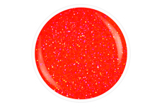 Jolifin Carbon Quick-Farbgel neon-peach Glitter 11ml