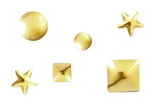 Jolifin Nieten-Sticker Mix Gold