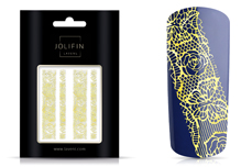 Jolifin LAVENI Lace Sticker - Gold 2