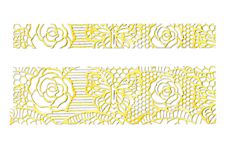 LAVENI Lace Sticker - Gold 2