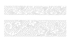 LAVENI Lace Sticker - White 2