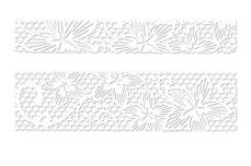 Jolifin LAVENI Lace Sticker - White 2