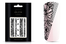 Jolifin LAVENI Lace Sticker - Black 1
