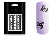 LAVENI Lace Sticker - Black 2