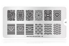 MoYou-London Schablone Festive Collection 42