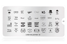 MoYou-London Schablone Lingo Collection 01