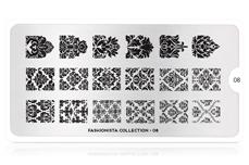 MoYou-London Schablone Fashionista Collection 08