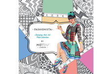 MoYou-London Schablone Fashionista Collection 08