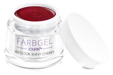 Jolifin Wetlook Farbgel shiny cherry 5ml