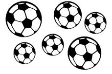 Jolifin Fussball Tattoo Nr. 3