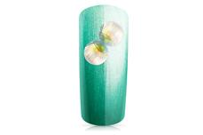 Jolifin Strasssteine Muschel - Silber irisierend