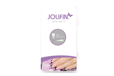Jolifin 500er Tipbox classic Stiletto clear