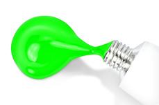 Jolifin One-Stroke Malfarbe neon-green 10ml