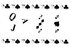Jolifin Silver-Black Nailart Sticker 5