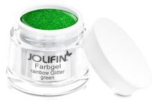 Jolifin Farbgel rainbow Glitter green