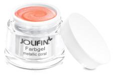 Jolifin Farbgel metallic coral 5ml