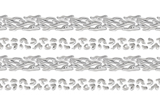Jolifin Lace Sticker - Silber 1