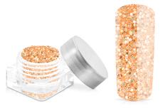 Jolifin Illusion Glitter X - pastell-mandarin