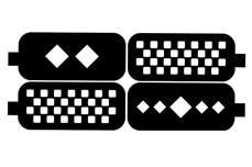 Jolifin Design Schablone Nr. 5