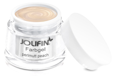 Jolifin Farbgel Perlmutt peach 5ml