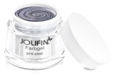 Jolifin Farbgel pink steel 5ml