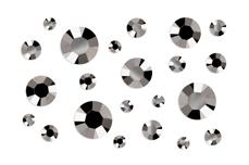 Jolifin Strass-Display metallic chrome