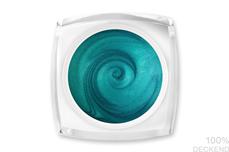 Jolifin LAVENI Farbgel - türkis Glimmer 5ml