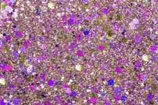 Jolifin Hexagon Glittermix purple-champagne
