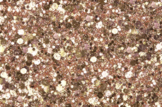 Jolifin Hexagon Glittermix rosy-champagne