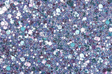 Jolifin Hexagon Glittermix purple-türkis