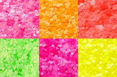 Jolifin Neon Pailletten-Mix Set
