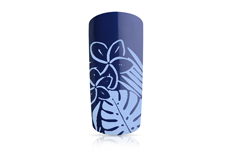 Jolifin Stamping-Lack - pastell-blue Glimmer 12ml