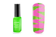Jolifin Nailart Fineliner neon-green Glimmer 10ml