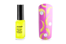 Jolifin Nailart Fineliner neon-yellow Glimmer 10ml