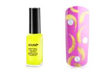 Jolifin Nailart Fineliner neon-yellow Glimmer 10ml