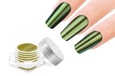 Jolifin FlipFlop Glitter Pigment gold & green