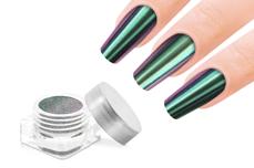 Jolifin FlipFlop Glitter Pigment - rosy & green
